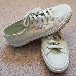 Spring Green (Mint) Superga Sneakers